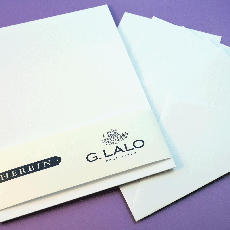 G. Lalo Stationery